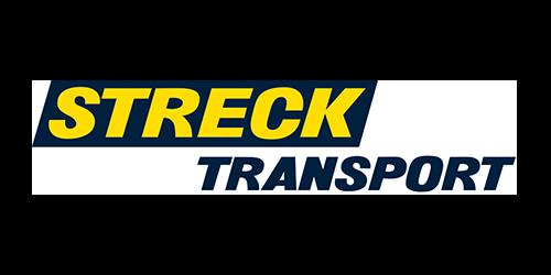 Logo:  Streck Transport
