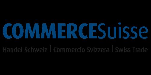 Logo:  Commerce Suisse