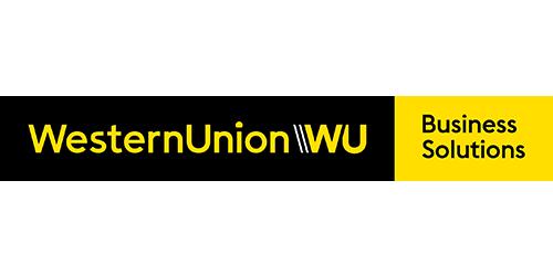Logo:  Western Union